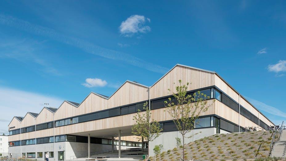 SE, Adolfbergsskolan, Knivsta, Mattias Palme, LLP Arkitektkontor Larsson Lindstrand Palme, Education, Exterior