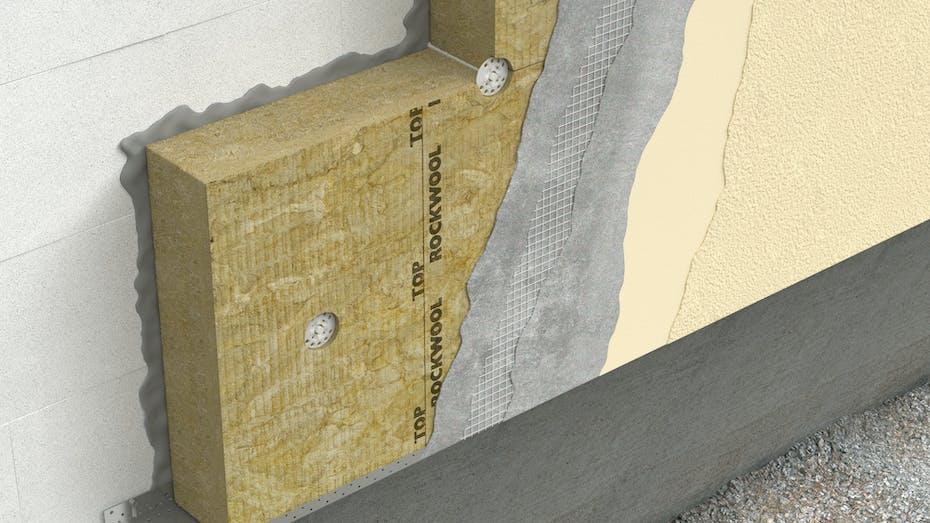 ETICS, external walls