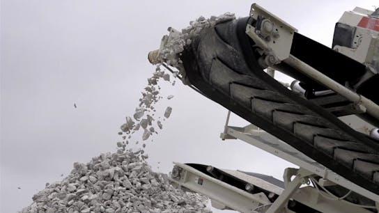 Rockworld imagery, circularity, recycling, reuse
