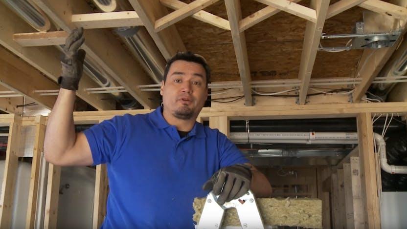 How to Soundproof Ceilings Between Floors video