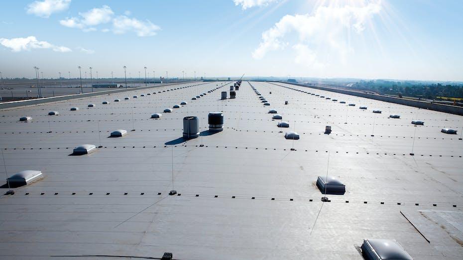 flat roof, flatroof, flachdach, germany