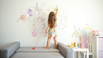 People, Humans, Child, Home, Painting