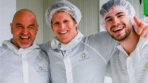 Pirctue of Cannerald employees for the testimonial for grodan max