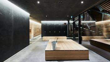 Parafon Paracem in colour black at Löyly Sauna Helsinki in Finland