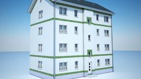 illustration, product, etics, wall, facade, fireproof barrier, brandriegel, germany