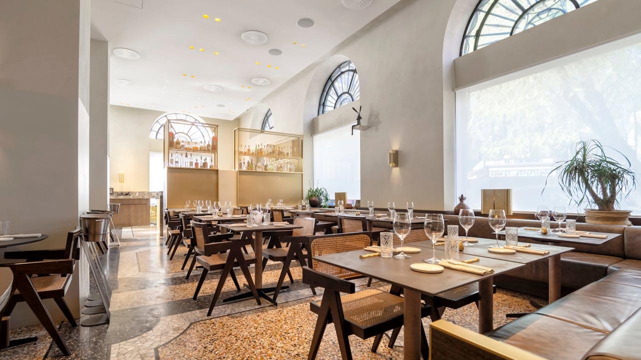 IT, Ristorante Cittamani, Milano, Italy, arch Federa, Leisure, Rockfon Mono Acoustic, Elegant Render, A edge, 1200x1800, White, Restaurant