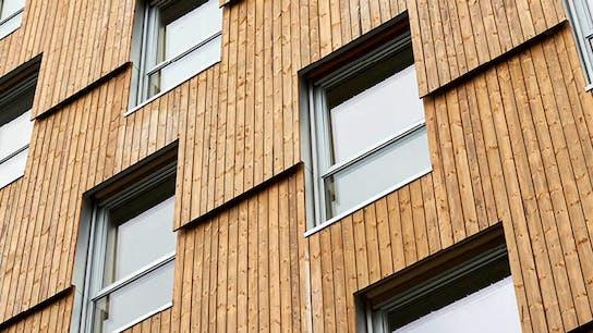 Reference case, Norway, Trondheim, Moholt 50/50, climate action, massive wood, REDAir FLEX, apartments