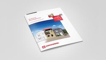 Mockup, brochure, Rockzero Bouwsystemen
