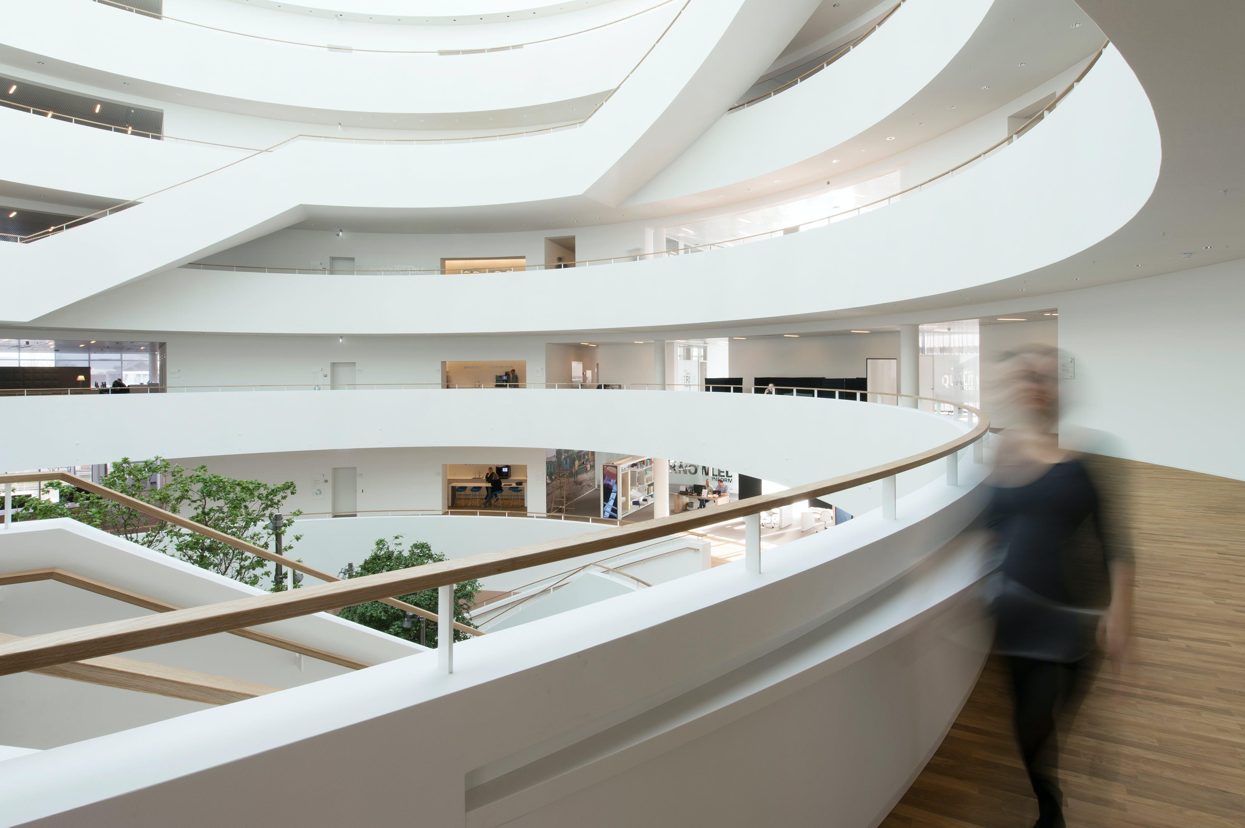 Big pharmaceutical office in Copenhagen, Denmark, Rockfon Mono Acoustic, Aesthetics