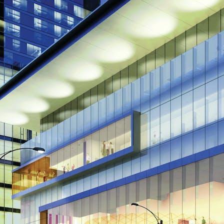 Curtainrock-ritz-carlton-toronto-1, hotel, exterior, lights, modern, city