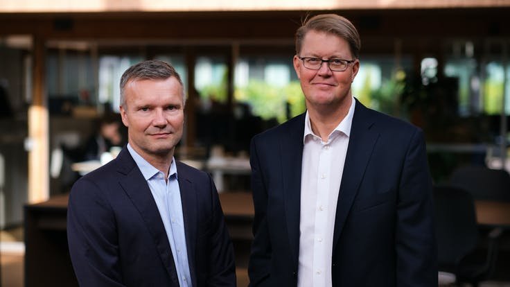 Thomas Kähler & Jens Birgersson, CEO and Chairman of the Board, Annual report 2020