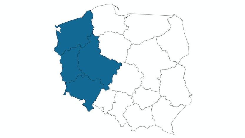 contact person, sales representative, profile and map, Andrzej Skrzypczak, PL
