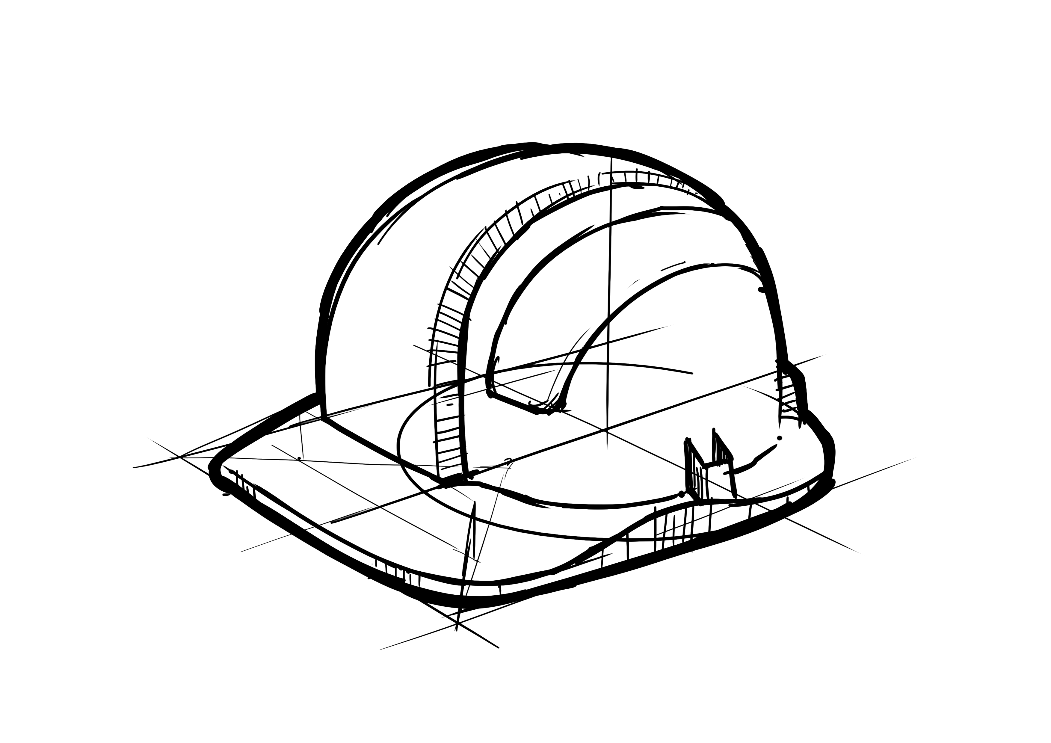 Hard hat, workers hat - large png