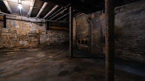 Old musty basement