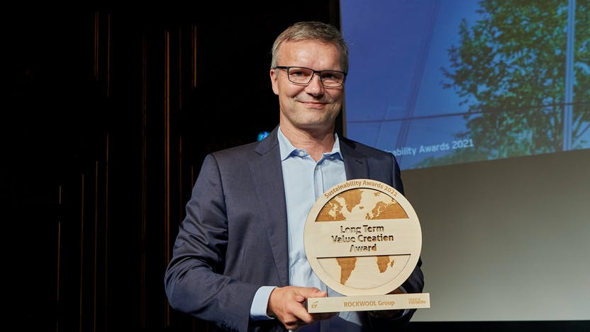 Sustainability Awards 2021,   Long Term Value Creation, Thomas Kähler