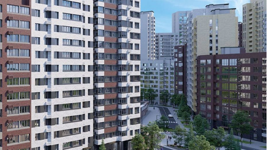 """Balcony, Residential complex """"Danish block"""", Moscow"""