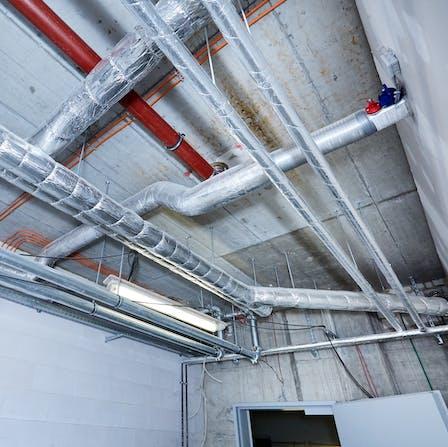 product, hvac, pipe, pipes, ducts, pipe insulation, duct insulation, press, presse, referenz, case study, st. joseph-stift, krankenhaus, dresden, brandweiterleitung verhindern, germany