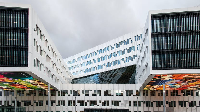 RockWorld imagery,The Big Picture, building, architecture, Statoil Fornebu, Annual Report 2012