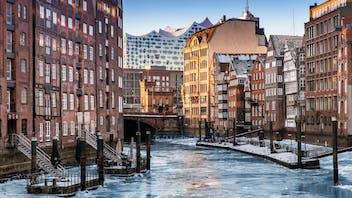 7 strenghts of stone, stärken von steinwolle, thermal properties, wärmeschutz, speicherstadt, winter, snow, ice, city, urban