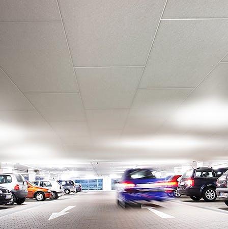 Car park ceiling