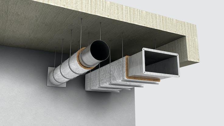 Installations, 05_Instalaciones_Ventilación y climatización_Conductos - Sistema Conlit Ductboard