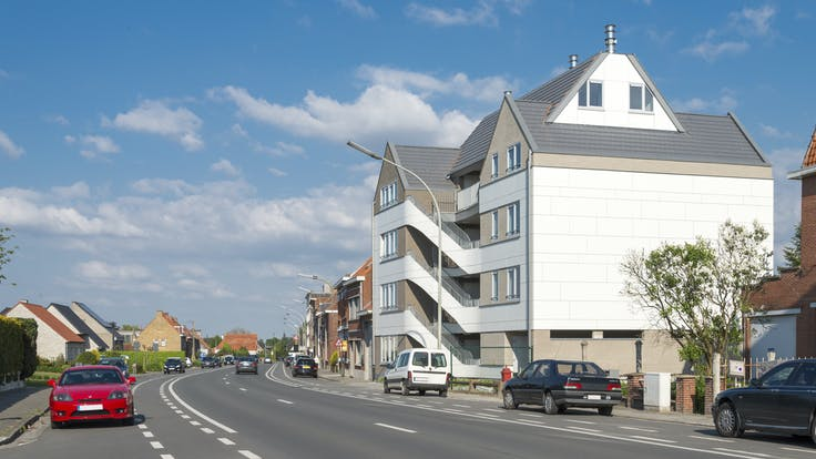 Rockpanel Colours - apartments in Ypres, Belgium