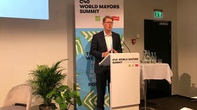 Picture from C40 world mayors summit, Jens