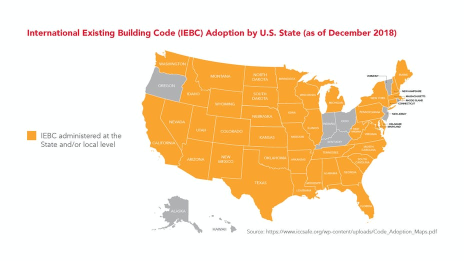 ROCKWOOL-IEBC-International Existing Code Adoption by U.S. state as of December 2018