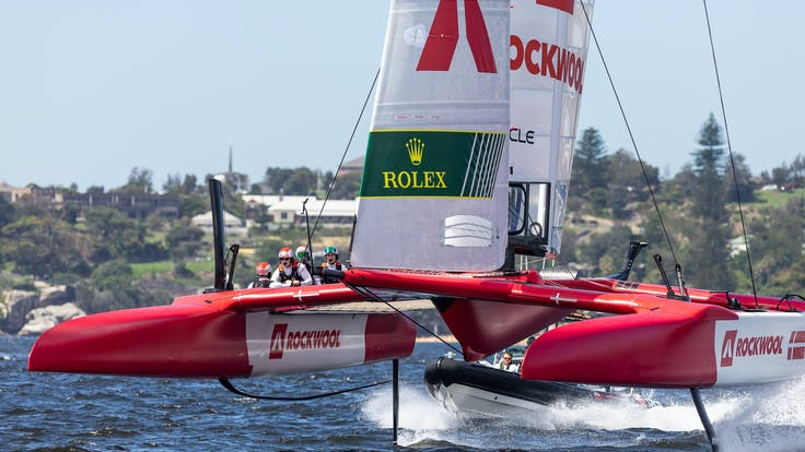 Denmark SailGP team in Sydney