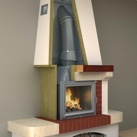 Fireplace insulation