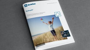 article illustration, brochure, rockcycle, recycling service, download, dark grey background