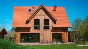 presse, press, single family house, nichtbrennbar, dämmsysteme, holzbau, haus, germany