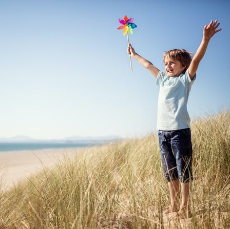 People, Humans, Child, Beach