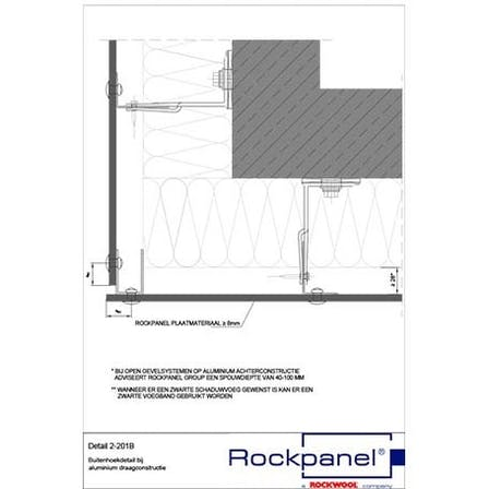 Rockpanel CAD drawings BE-NL