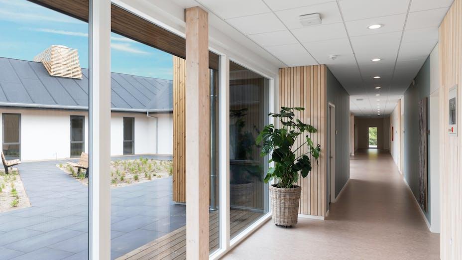 Hospice Vangen, DK, Nørresundby, Friis & Moltke, Healthcare, Rockfon Blanka, E edge, 600x600, white