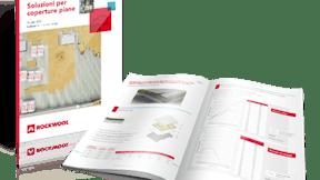 Mock up brochure Coperture Piane (Flatroof)