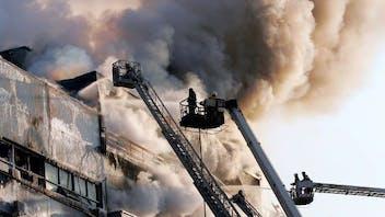 ROCKWOOL Imagery, Firemen, smoke