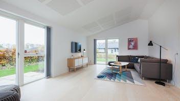 Rockzero, Denmark, intelligent walls, family house, reference case