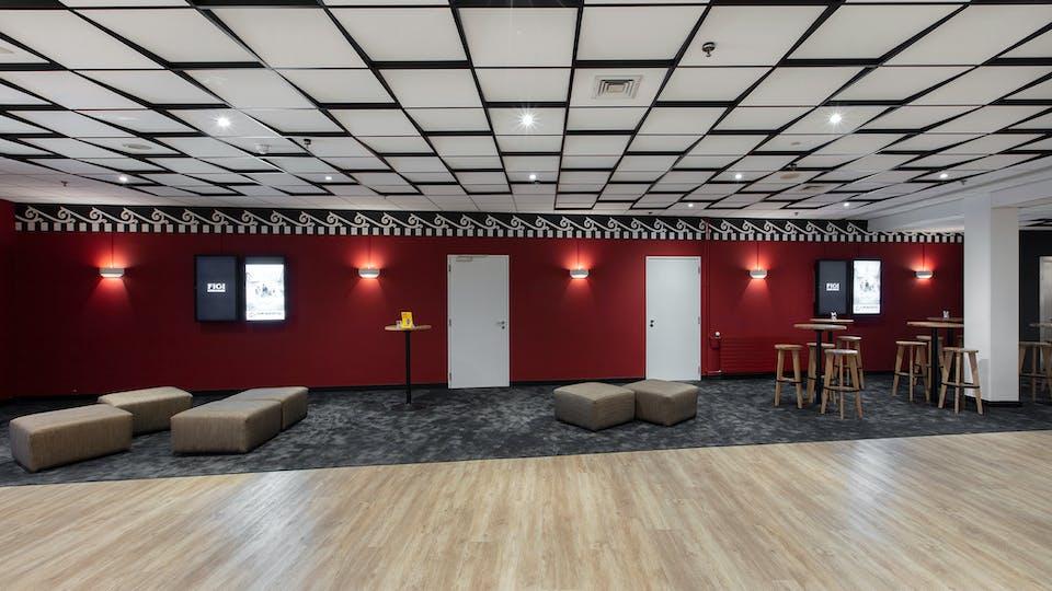 Acoustic ceiling solution: Rockfon Blanka®, A, 600 x 600