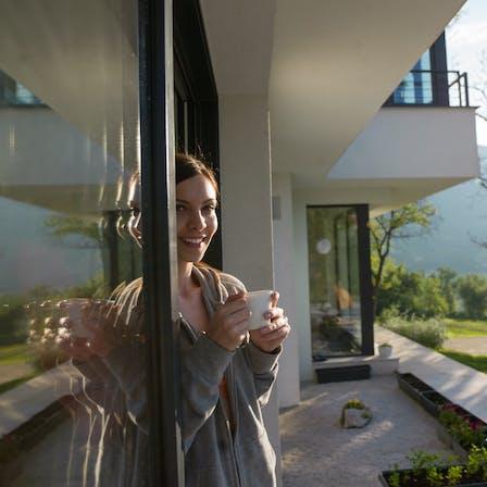 RockWorld imagery, Modern living, woman,
