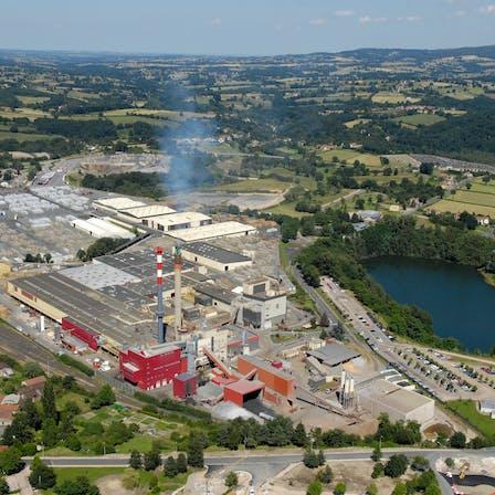 factory, outside, chimney, SELM