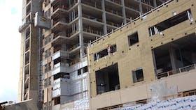 Humber Hospital Case Study 1, construction, building, hospital, insulation, exterior, cavityrock