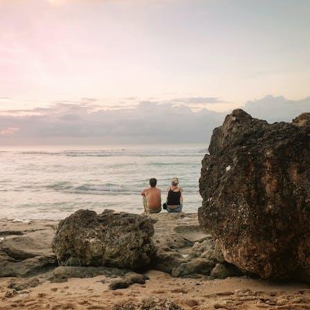 RockWorld imagery, The big picture, sea, ocean, beach, rock