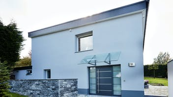 single family house, after renovation,  facade,  germany