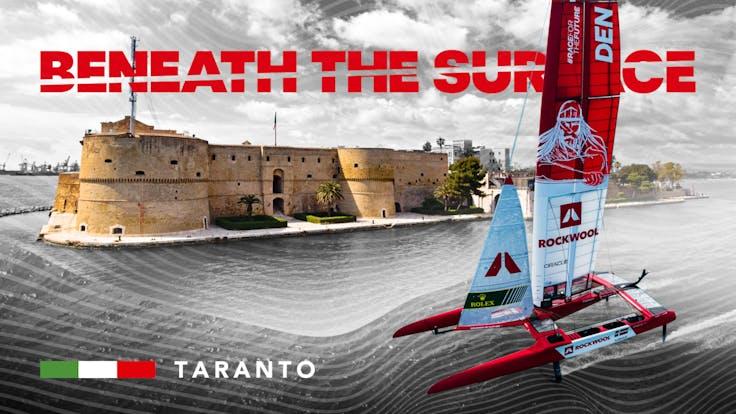 Beneath The Surface of Taranto Thumbnail, designed for YouTube