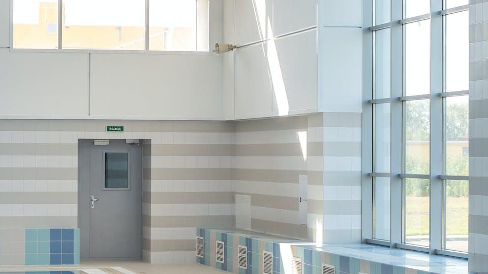 Acoustic ceiling solution: Rockfon Color-all® - Rockfon® Boxer™