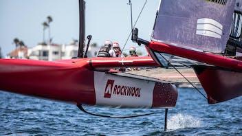on the water, F50, SailGP, Team ROCKWOOL Racing