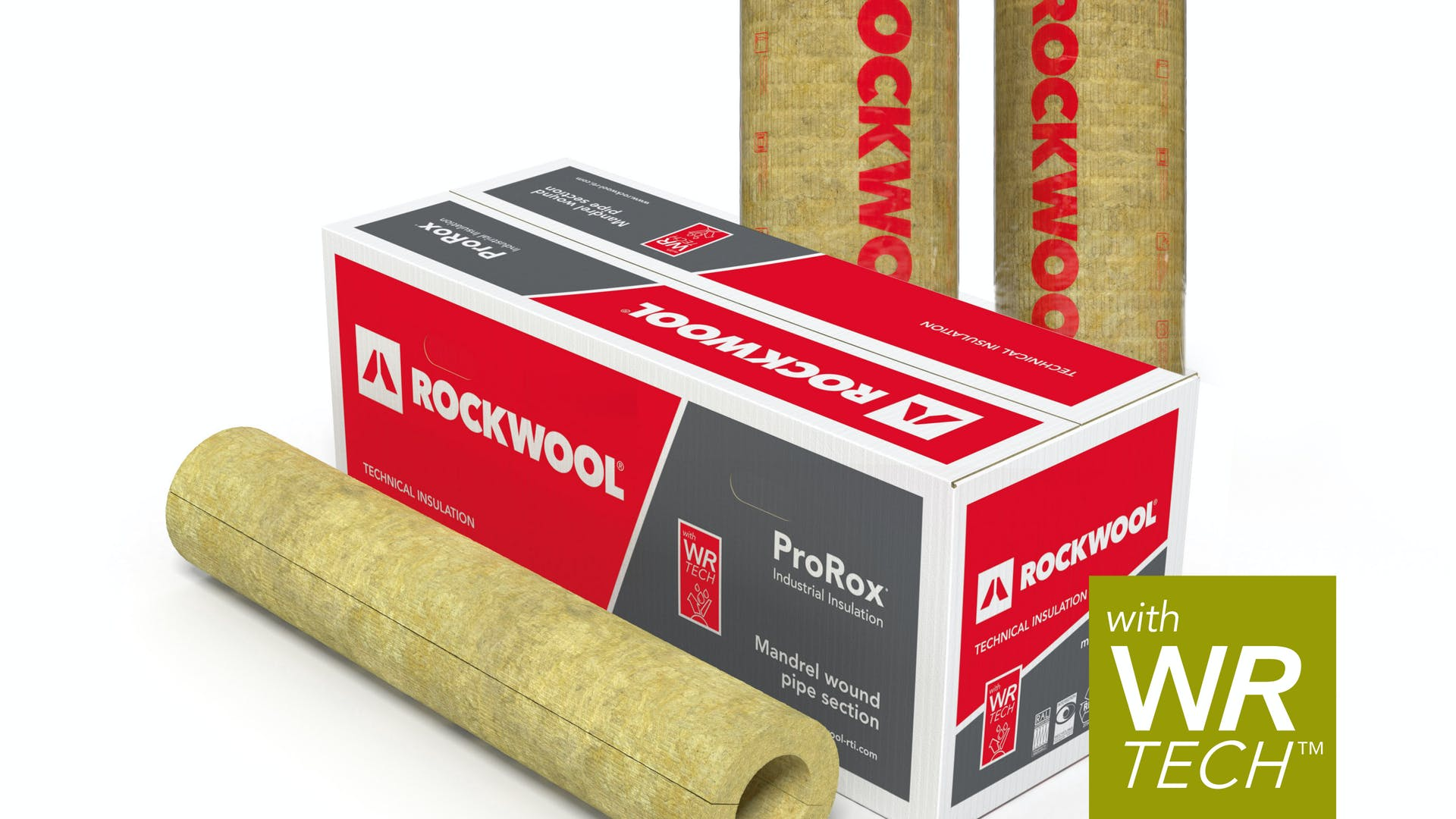 ProRox, industry, industrial, product, PS, PS 970, pipe section, WR-Tech, packaging, mono product line name, carton box, WR-Tech label, 3D image, product catalogue