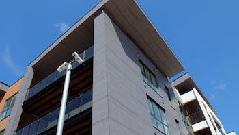 ExtraCare Longbridge in Birmingham (United Kingdom) with Rockpanel Woods FS-Xtra facade cladding