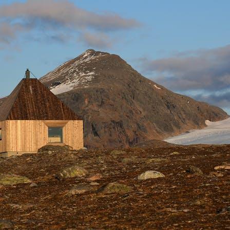 Reference case, Norway, Nordland, Rabothytta, FLEXI A-PLATE, REDAir FLEX, sikringshytta